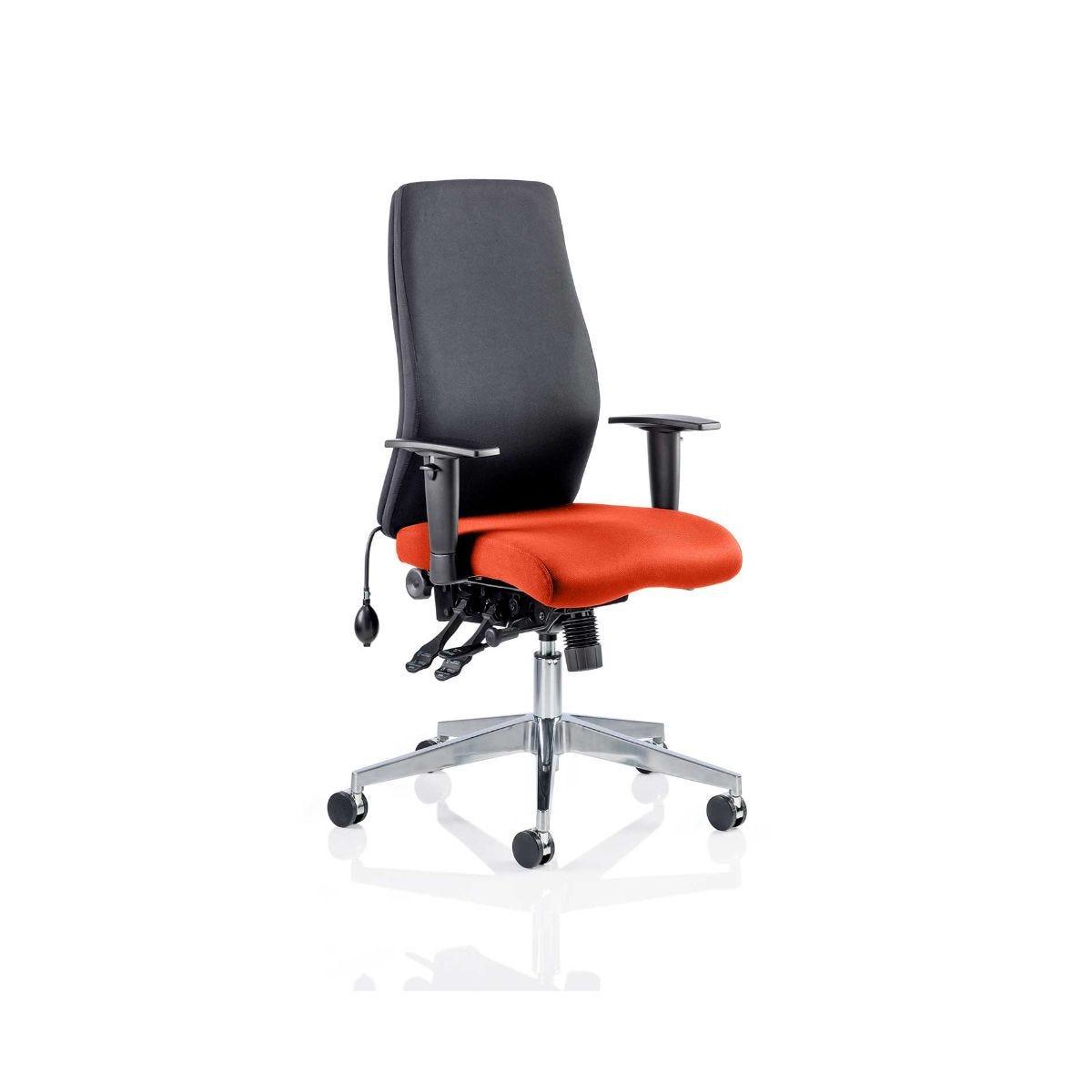 Onyx Office Chair, Pimento
