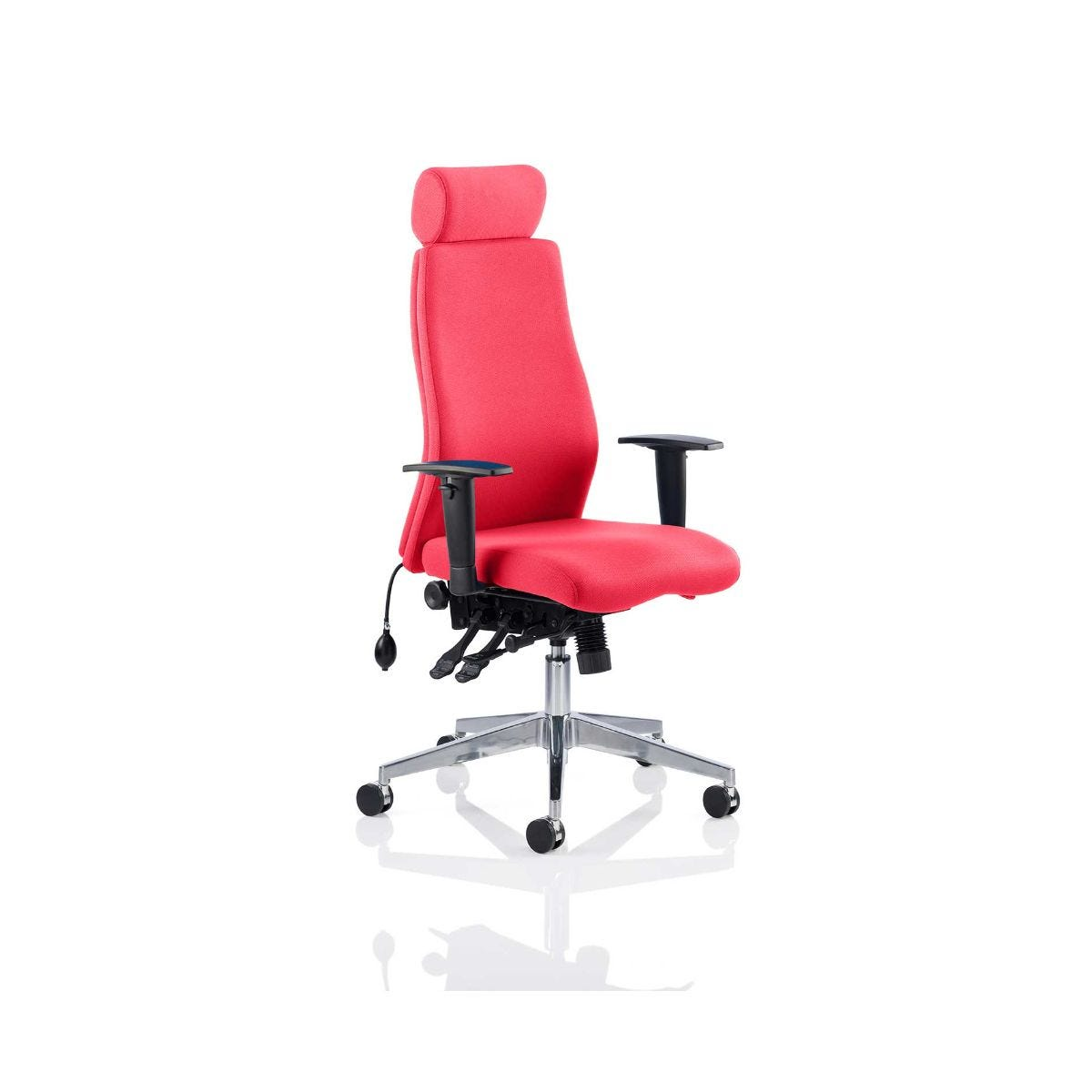 Onyx Bespoke Office Chair With Headrest, Cherry