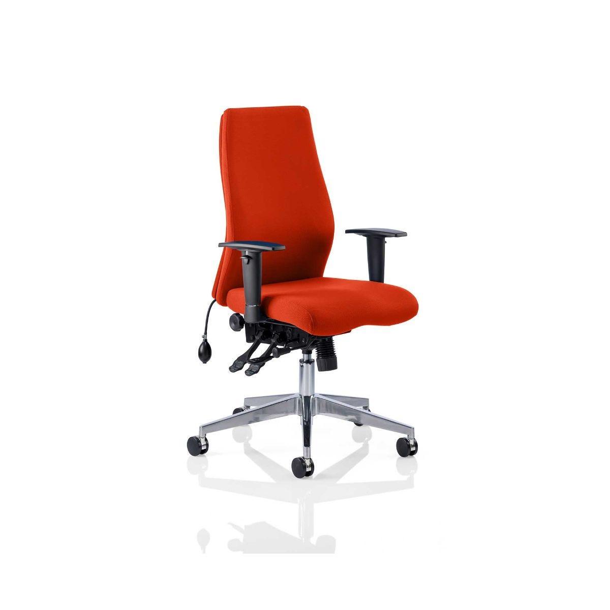 Onyx Bespoke Office Chair, Pimento