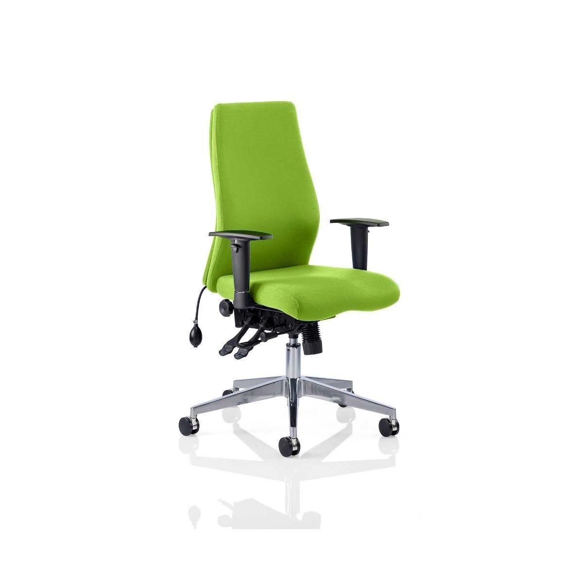 Onyx Bespoke Office Chair, Swizzle