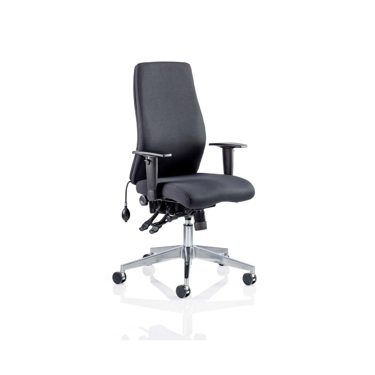 Onyx Posture Office Chair, Black