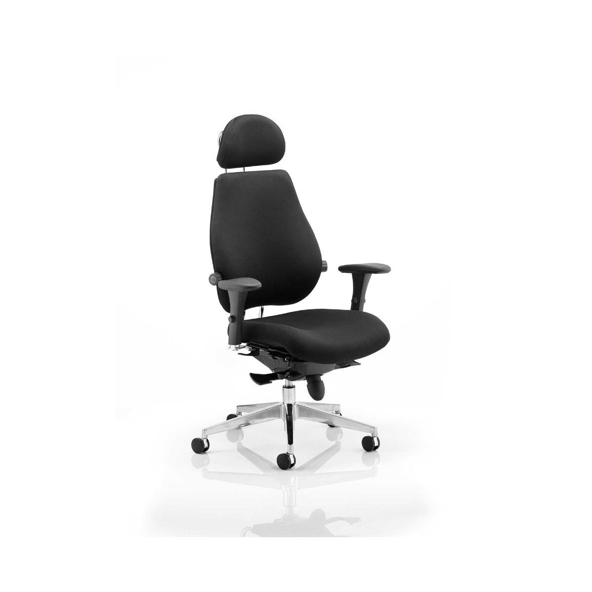 Chiro Plus Office Chair, Black