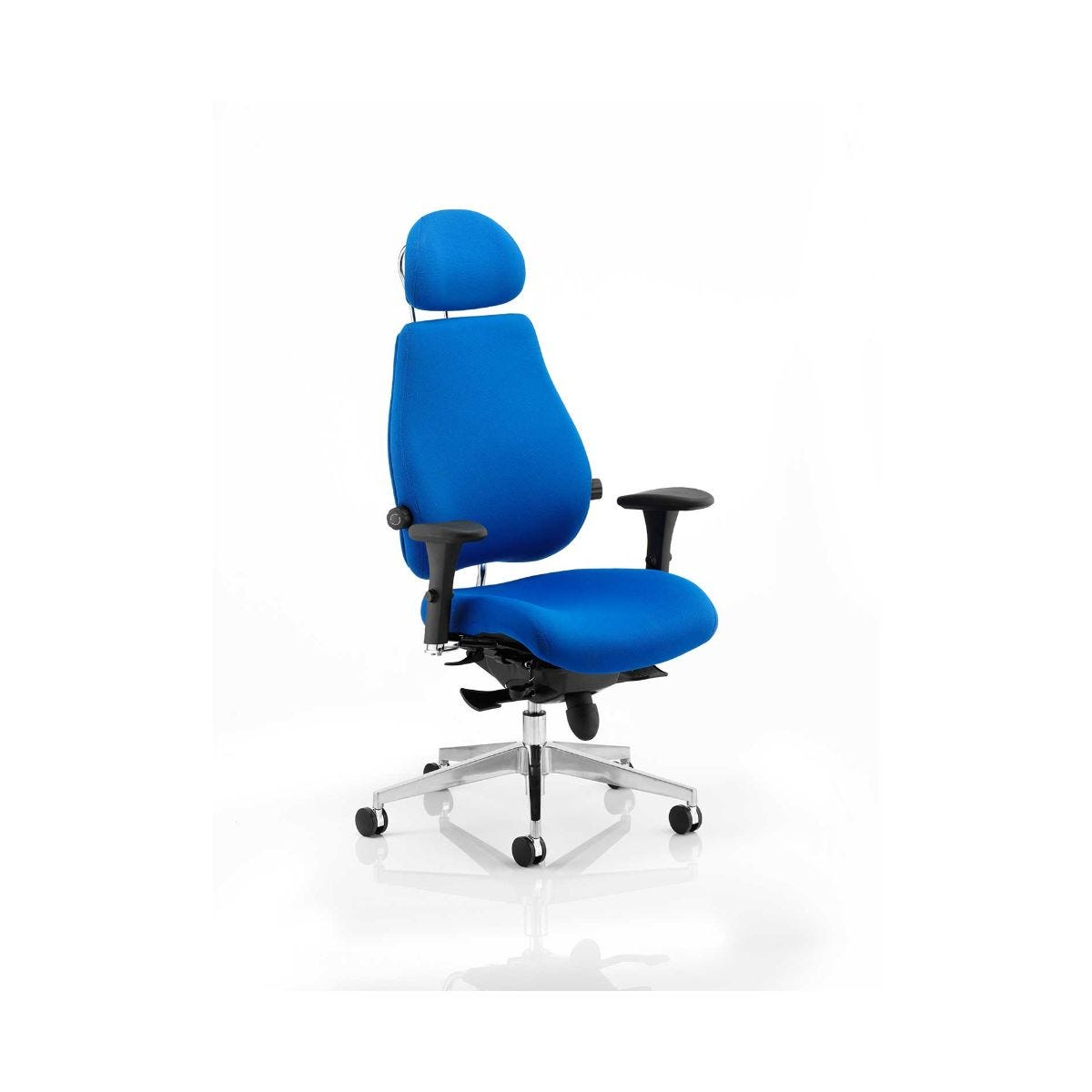 Chiro Plus Office Chair, Blue