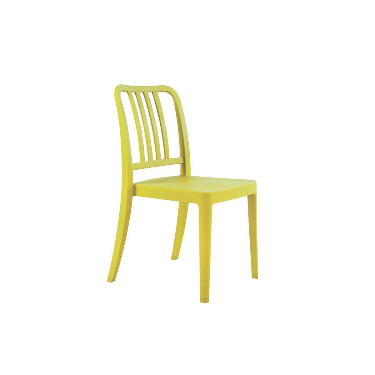 Rock Side Chair, Green