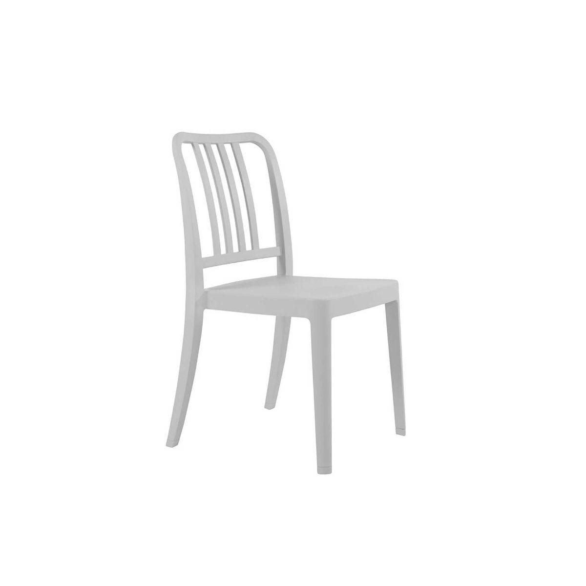 Rock Side Chair, Warm Grey