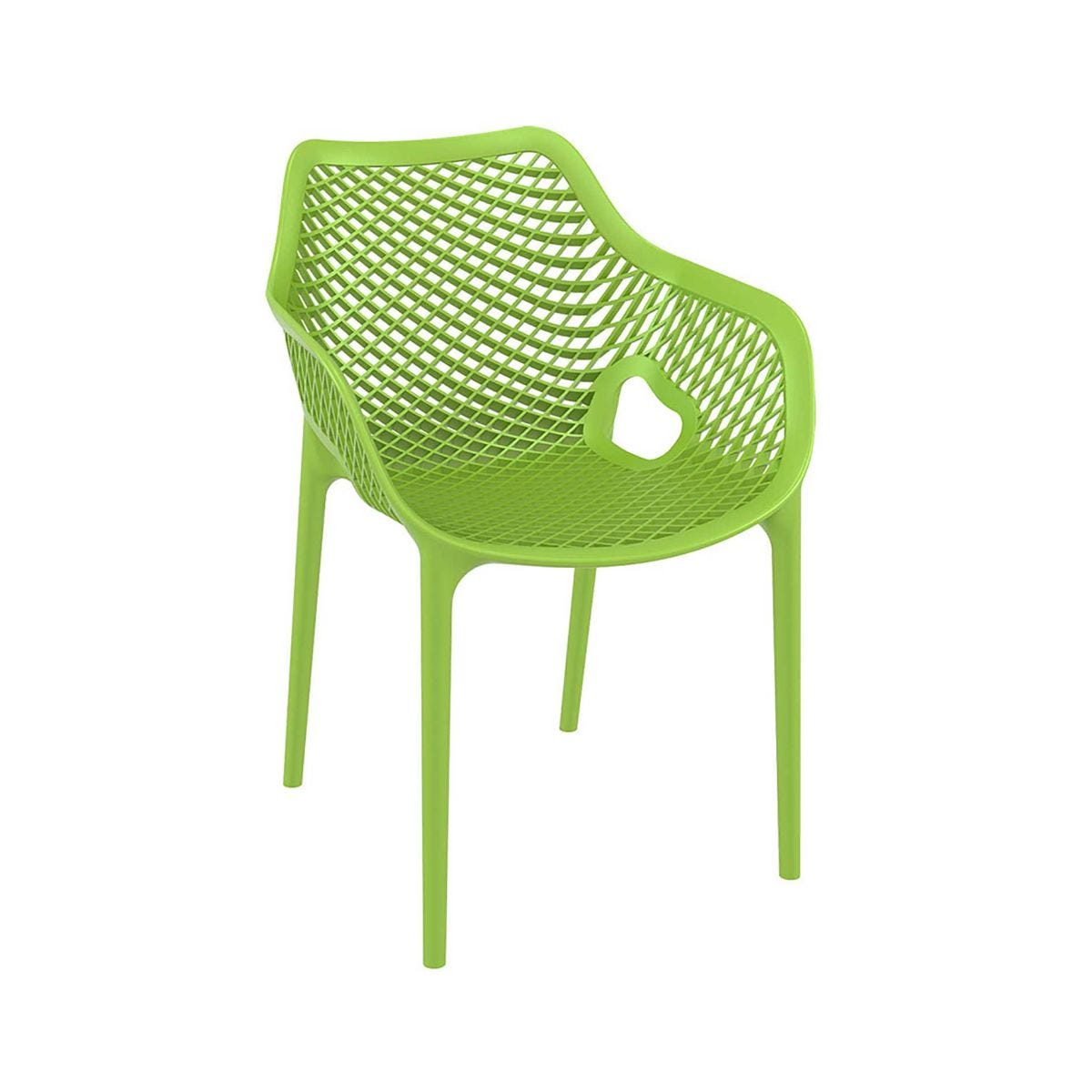 Spring Outdoor Arm Chair, Tropical Green