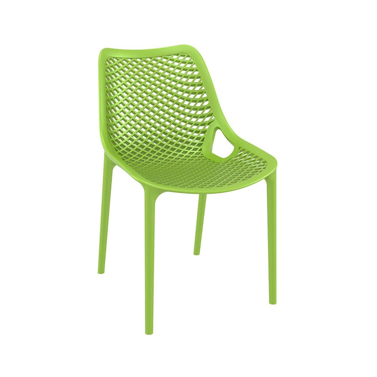 Spring Outdoor Side Chair, Tropical Green