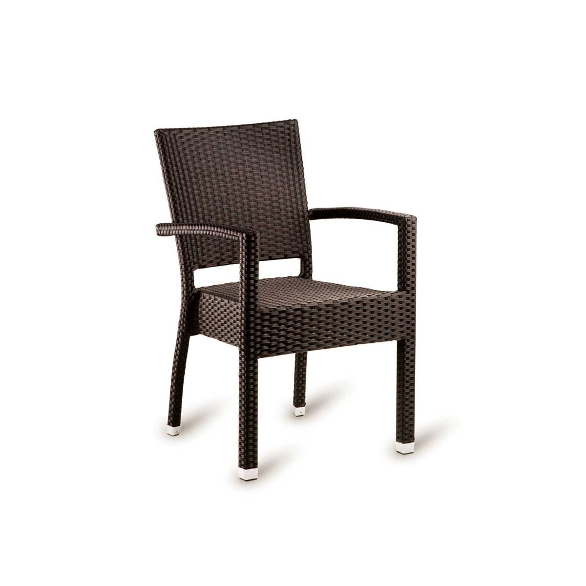 Stag Outdoor Arm Chair, Mocca