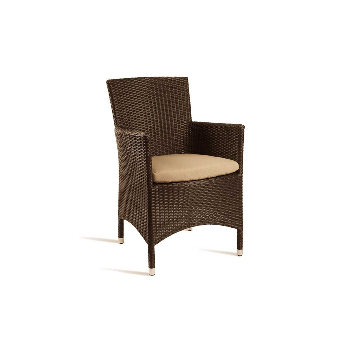 Stag Comfort Outdoor Arm Chair, Mocca