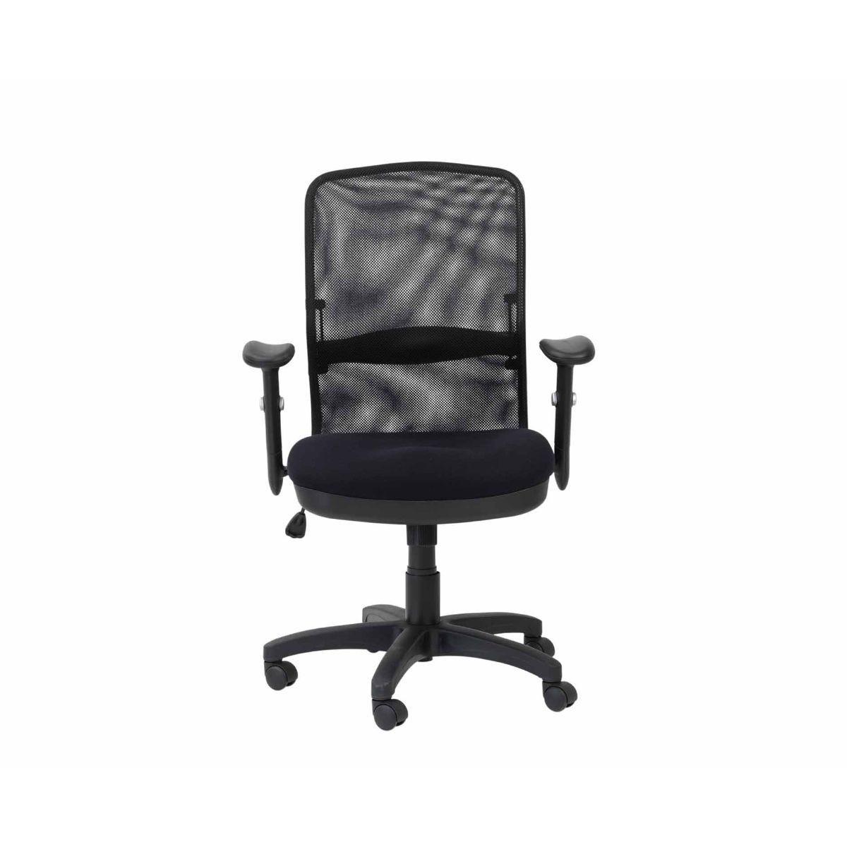 Alphason Dakota Mesh Back Managerial Office Chair, Black