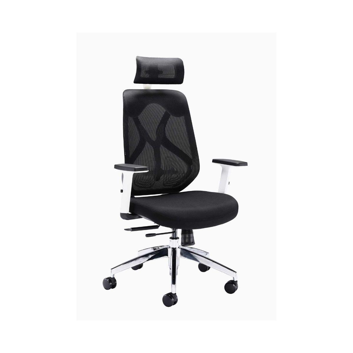 Maldini Designer High Back Mesh Task Office Chair, Black