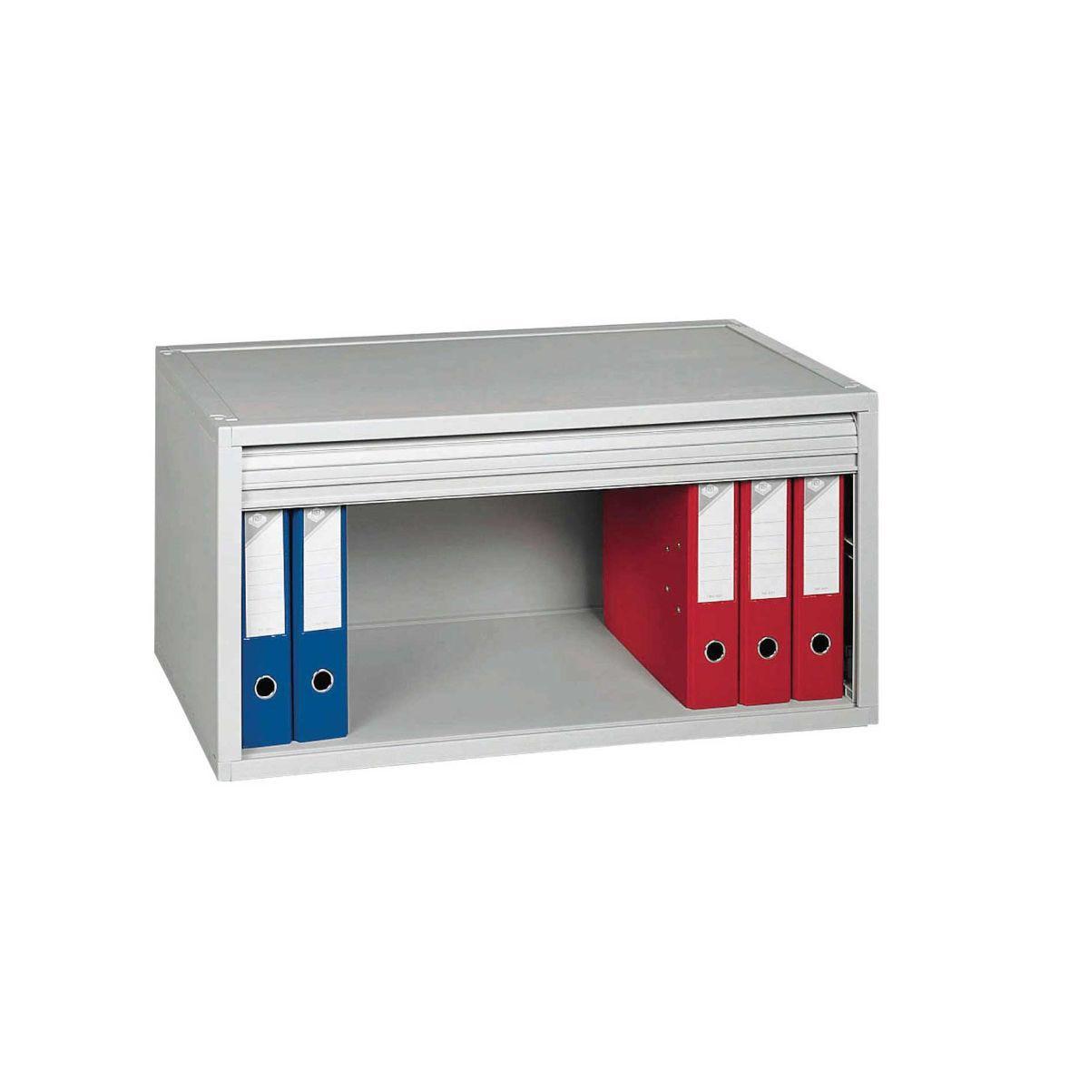 Multibloc Module Lever Arch Cupboard, Grey