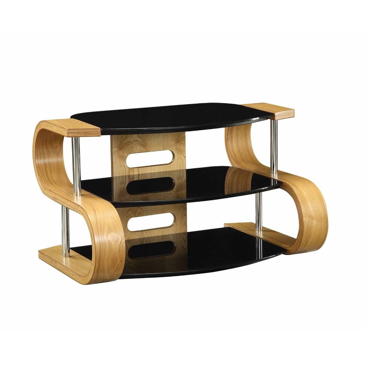 Jual Florence Curve TV Stand 850mm, Oak