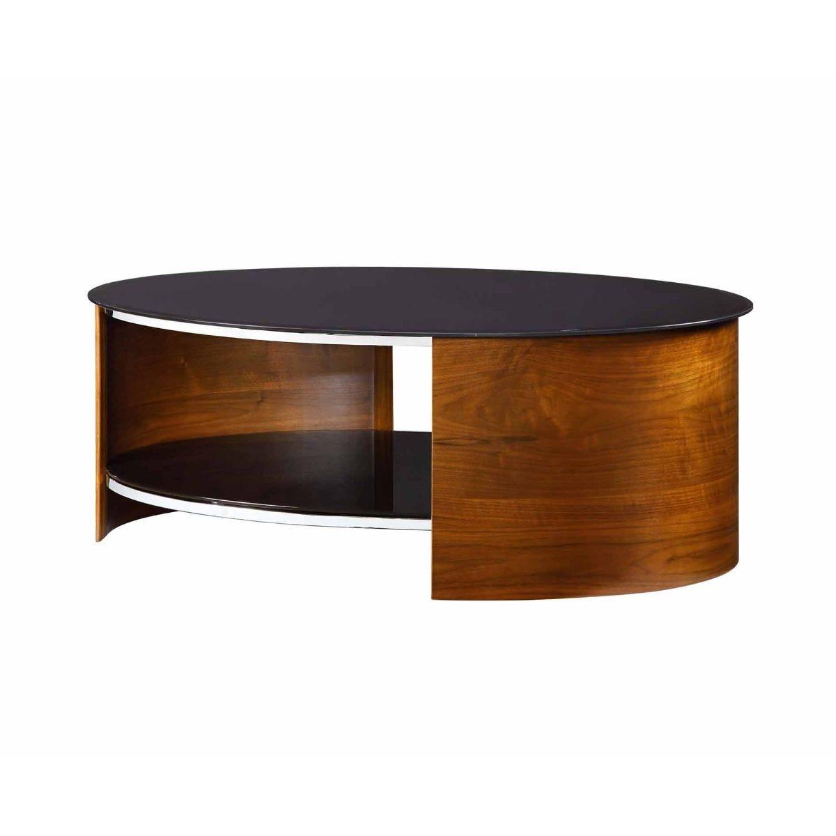 Jual San Marino Oval Coffee Table, Walnut