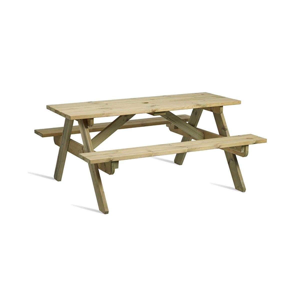 Hereford Picnic Table 8 Seater