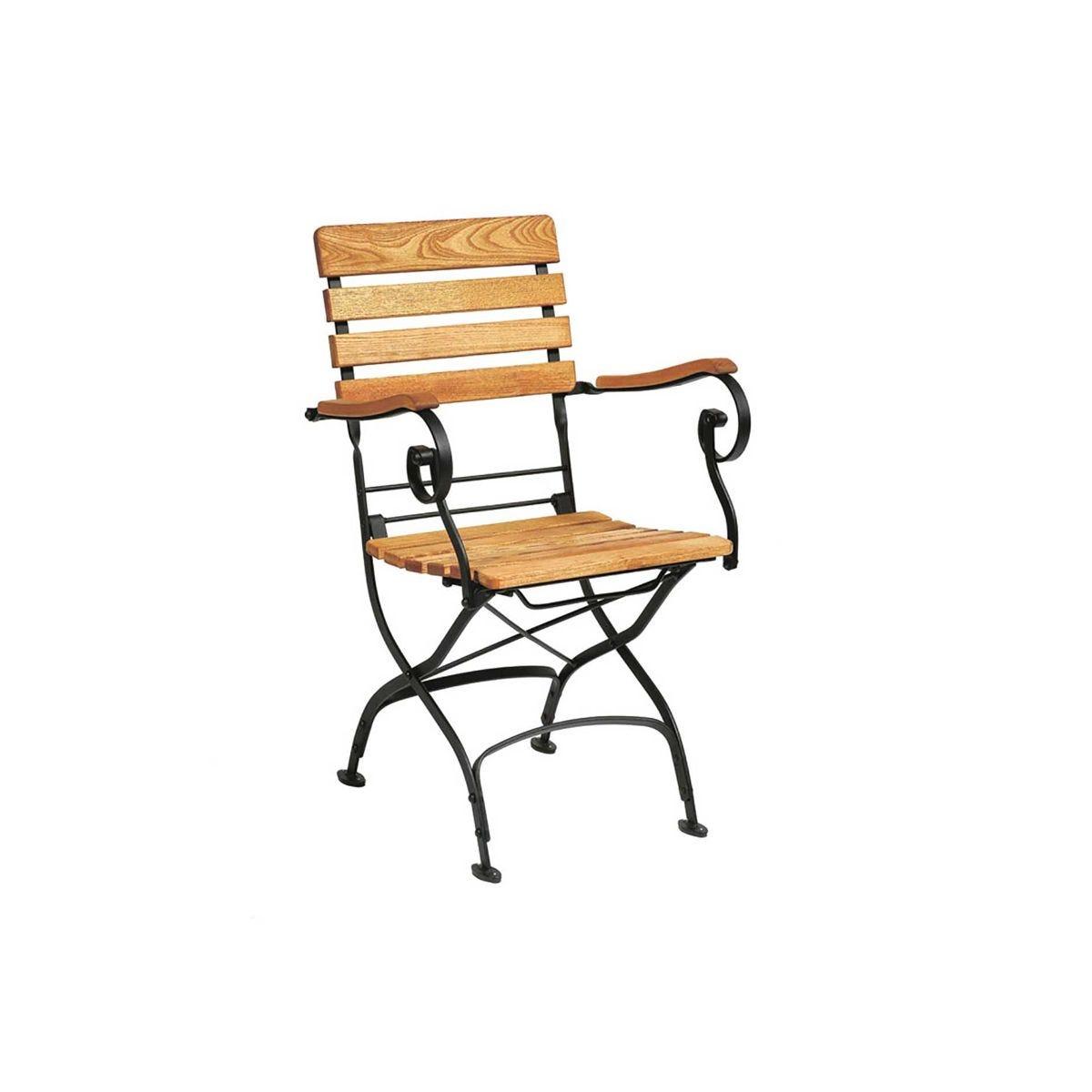 Arch Folding Arm Chair