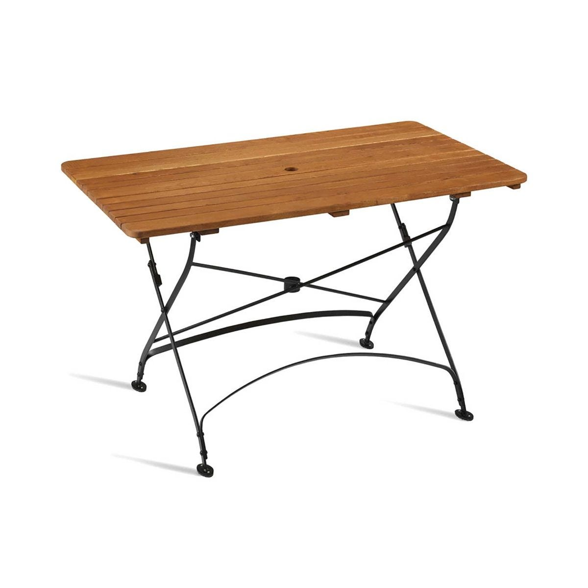 Arch Rectangular Folding Table
