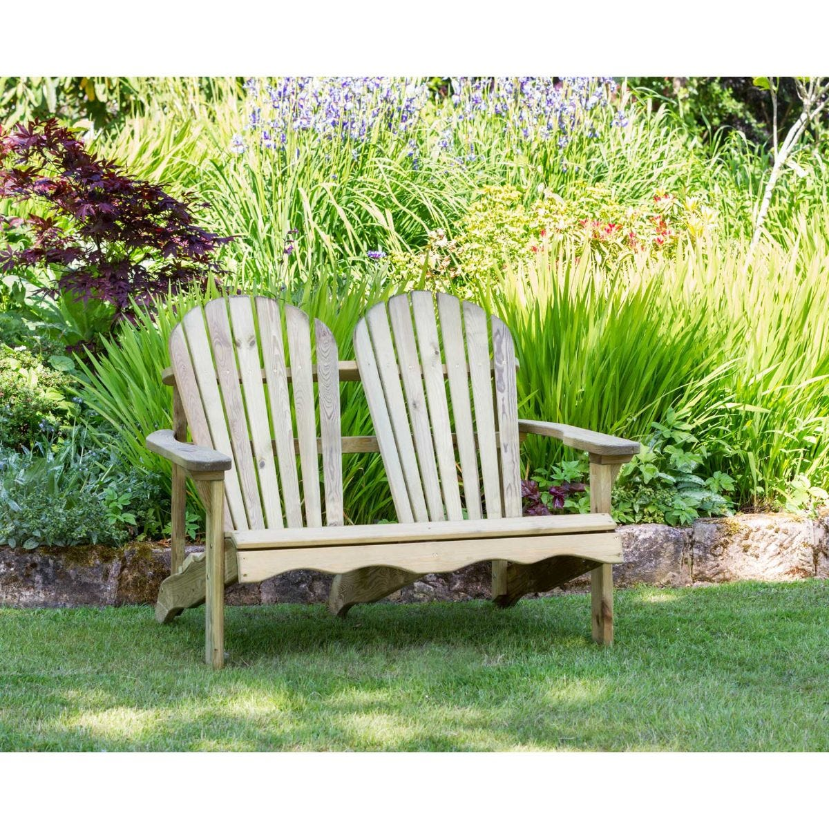 Zest4Leisure Lily Relax 2 Seater Garden Bench