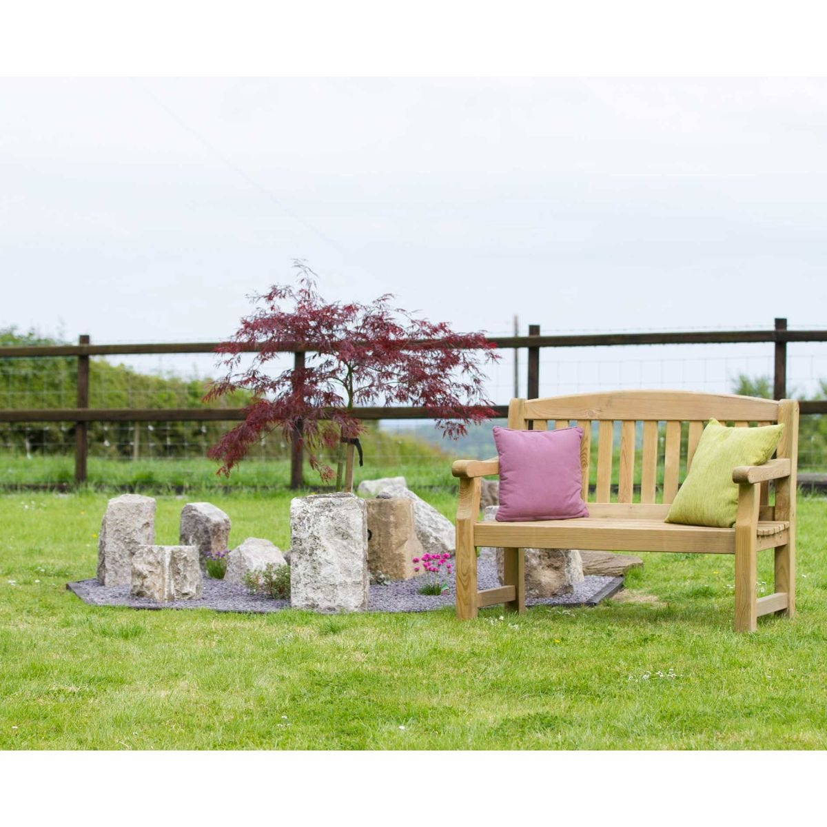 Zest4Leisure Emily 2 Seater Garden Bench