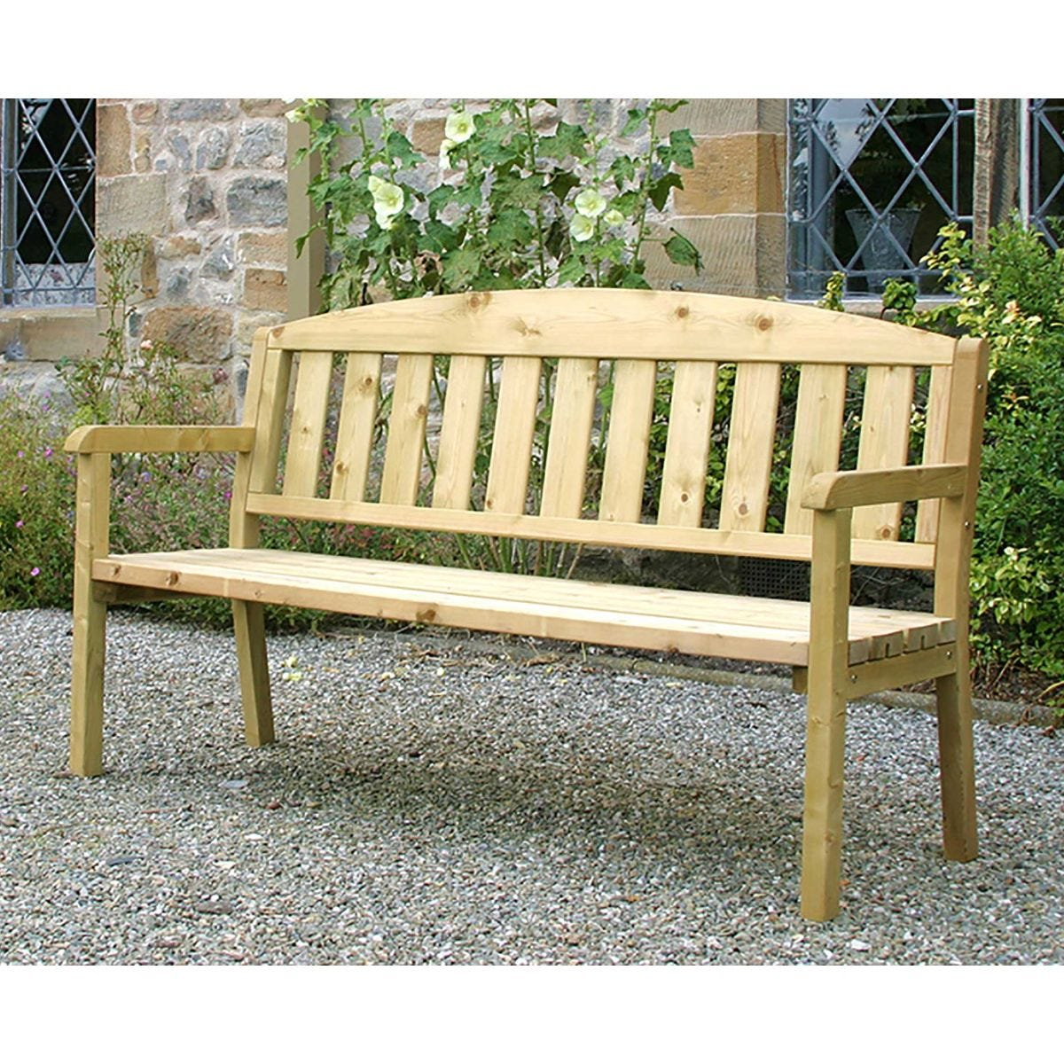 Zest4Leisure Caroline 3 Seater Garden Bench
