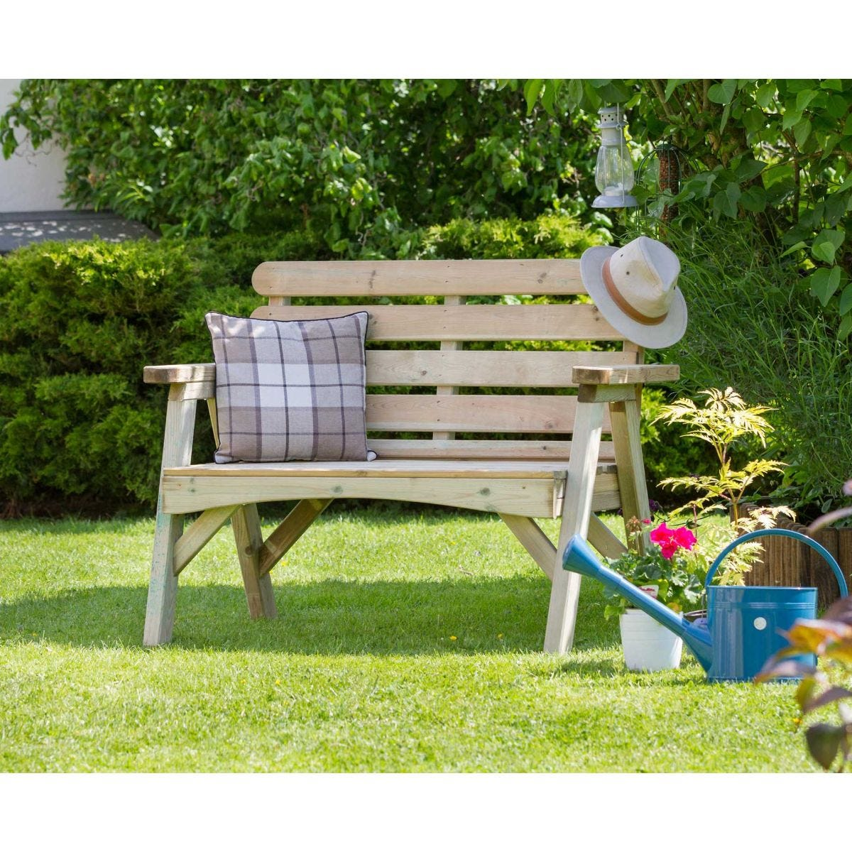 Zest4Leisure Abbey 2 Seater Garden Bench