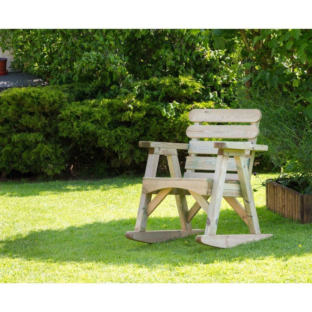 Abbey Outdoor Rocking Chair
