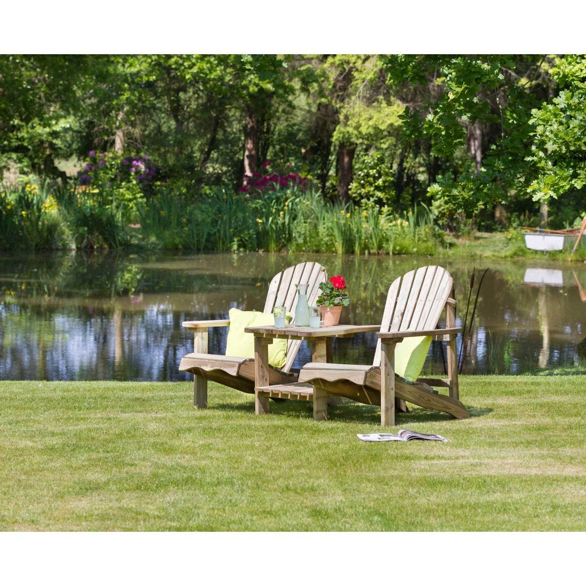 Lily Relax Double Garden Seat