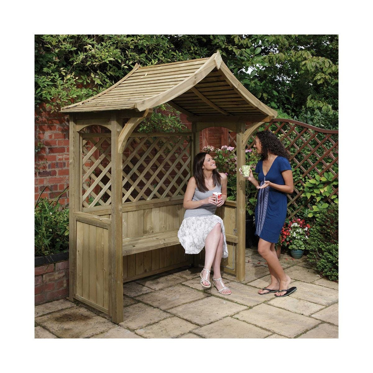 Rowlinson Party Arbour Garden Furniture