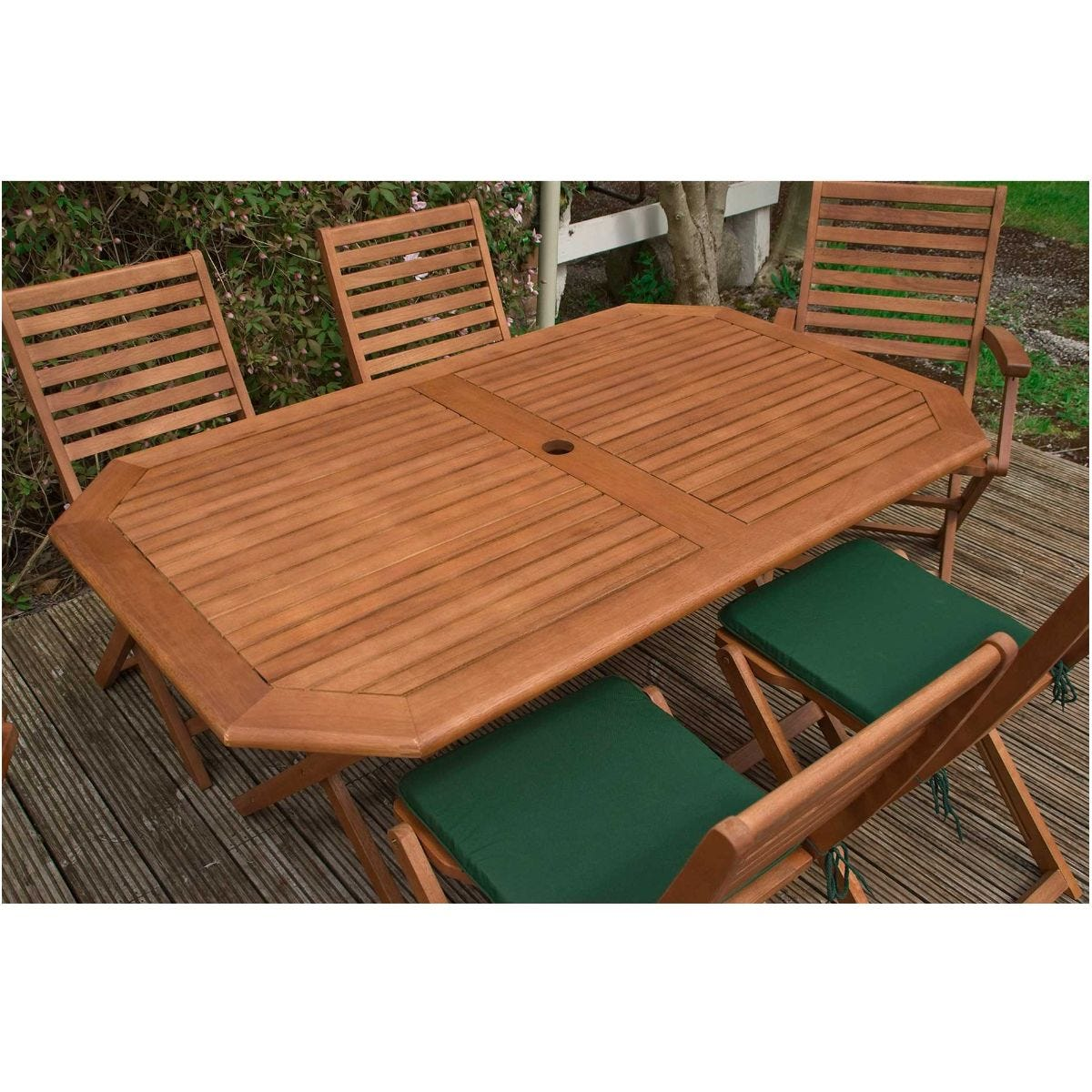 Rowlinson Plumley Garden Table and 6 Chairs Set