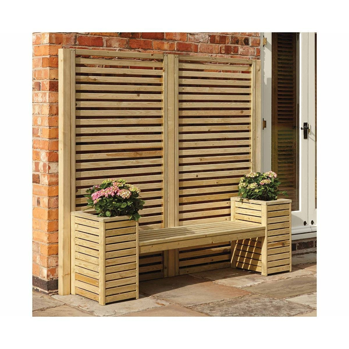 Rowlinson Garden Creations Seat Set, Natural
