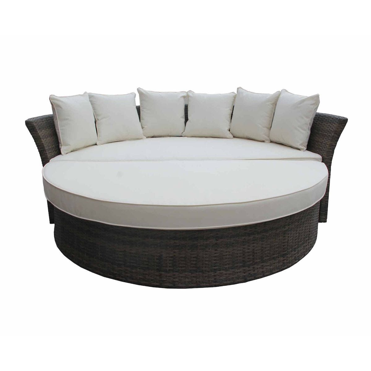 Charles Bentley Multifunctional Rattan Day Bed, Natural