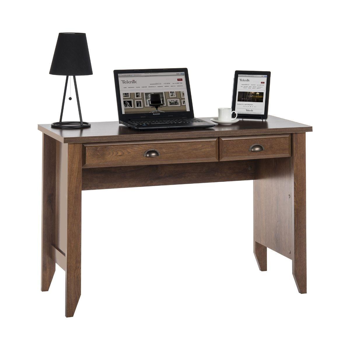 Teknik Office Modern Home Office Desk, Oak