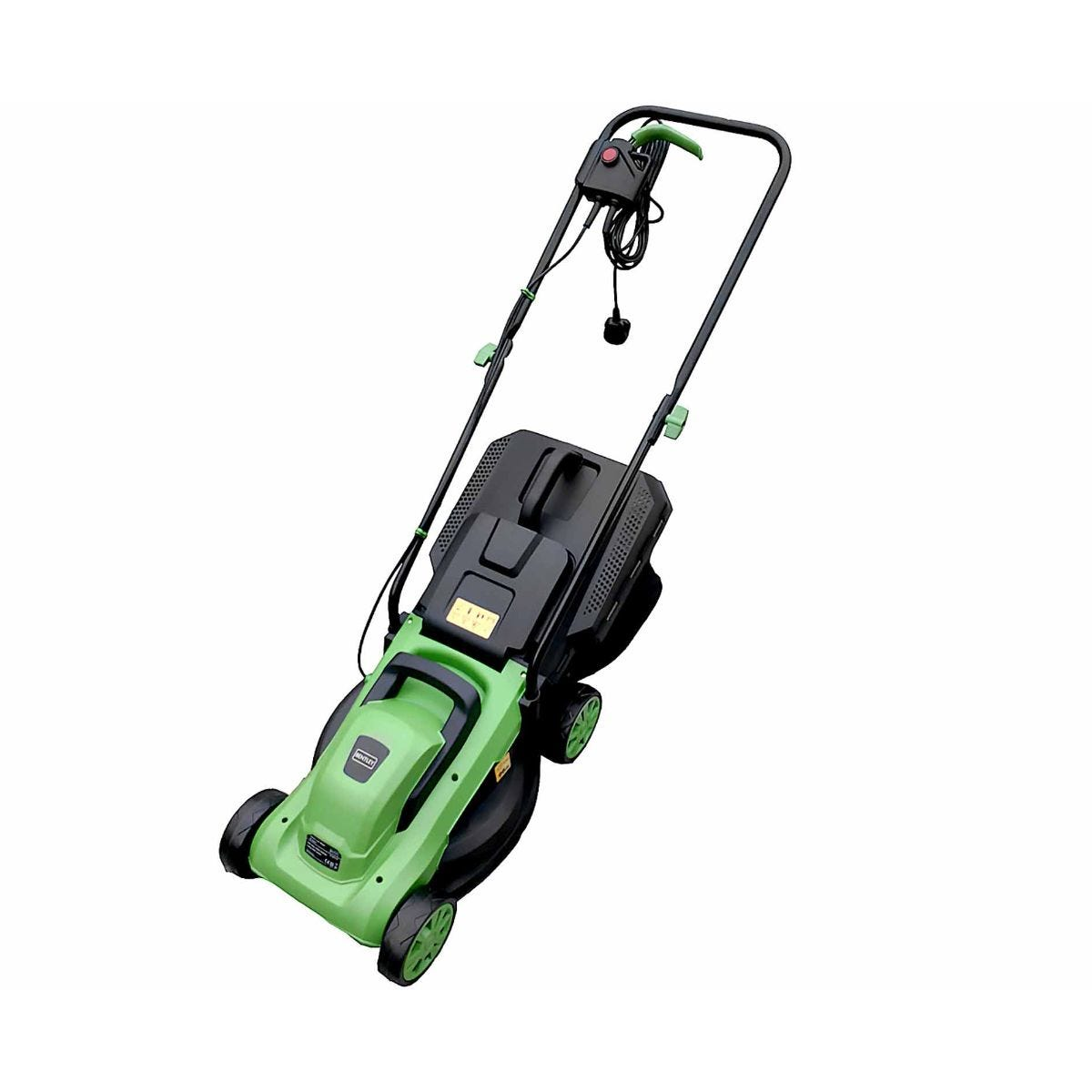 Image of Charles Bentley Wheeled Rotary Lawn Mower 12000W, Green