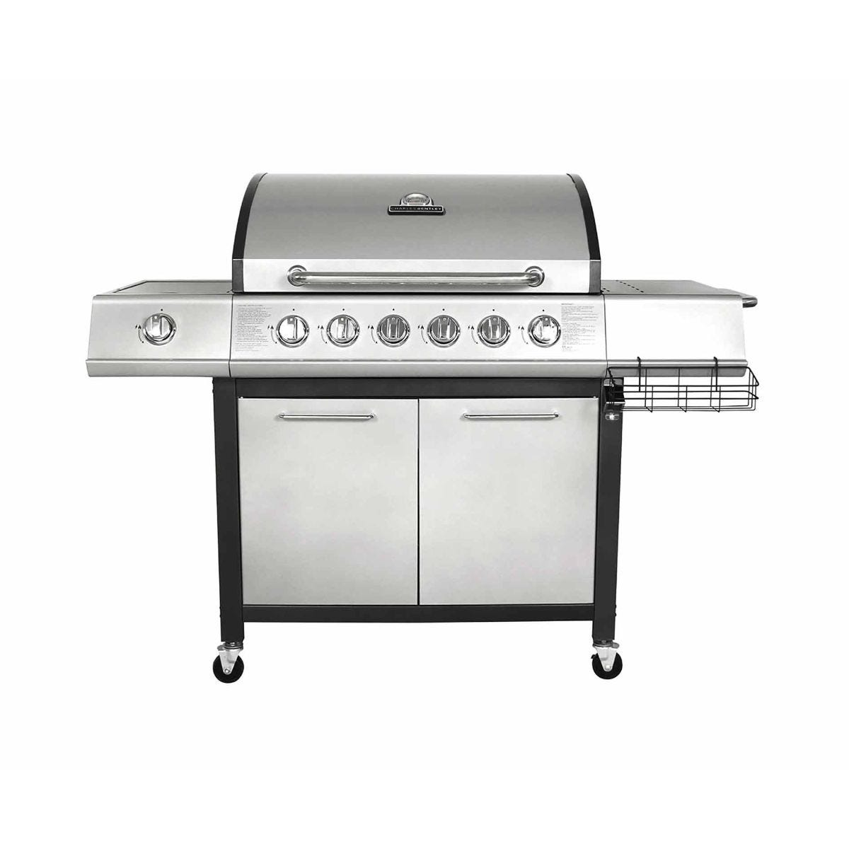 Image of Charles Bentley 7 Burner Premium Gas BBQ, Grey