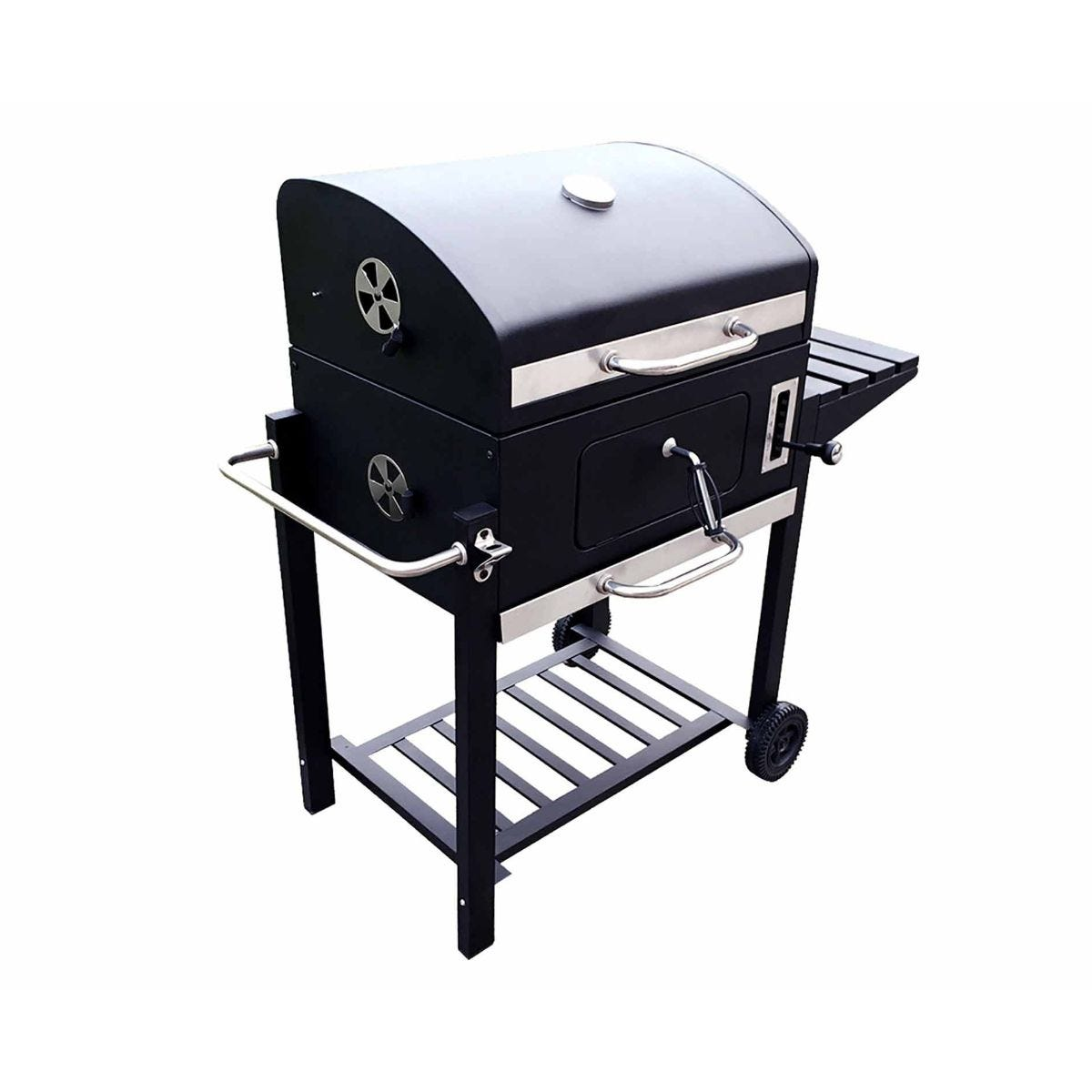 Image of Charles Bentley Large American Grill Charcoal BBQ, Charcoal