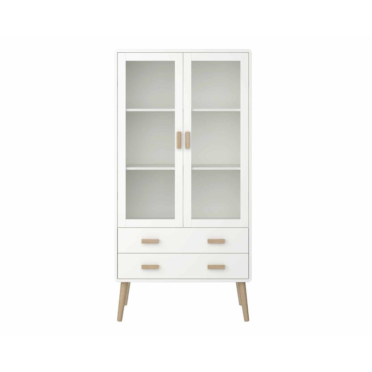 Steens Pavona Display Cabinet, White