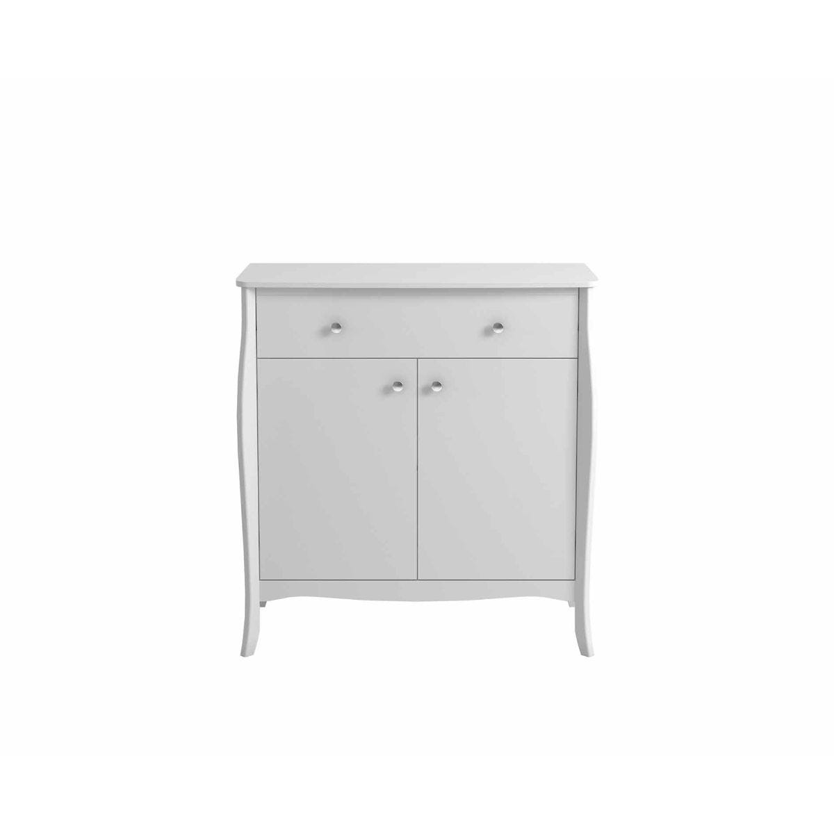 Steens Baroque Sideboard Small, White