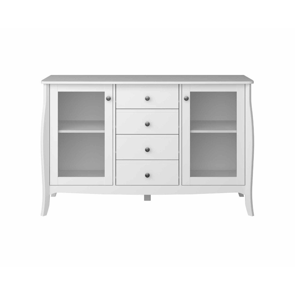 Steens Baroque Sideboard Large, White