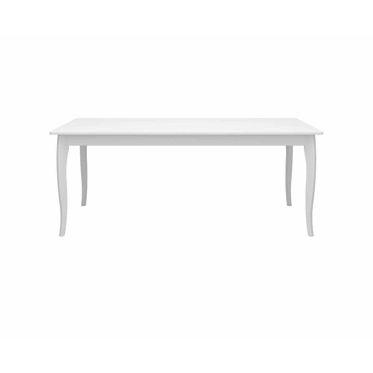 Steens Baroque Dining Table, White