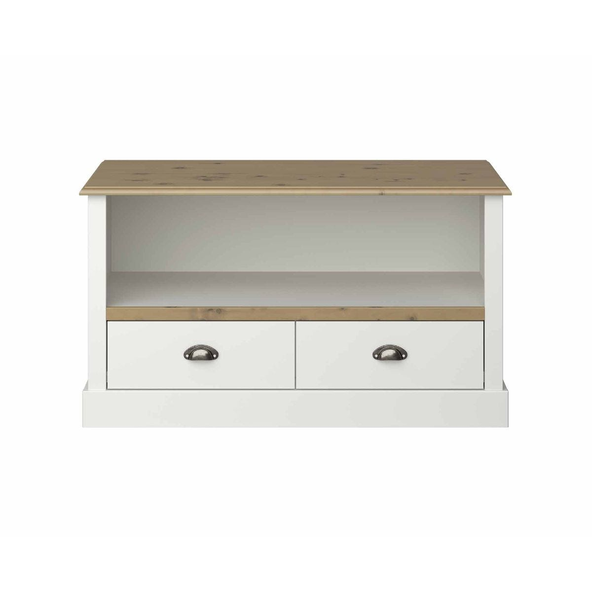 Steens Sandringham TV Stand Unit, White