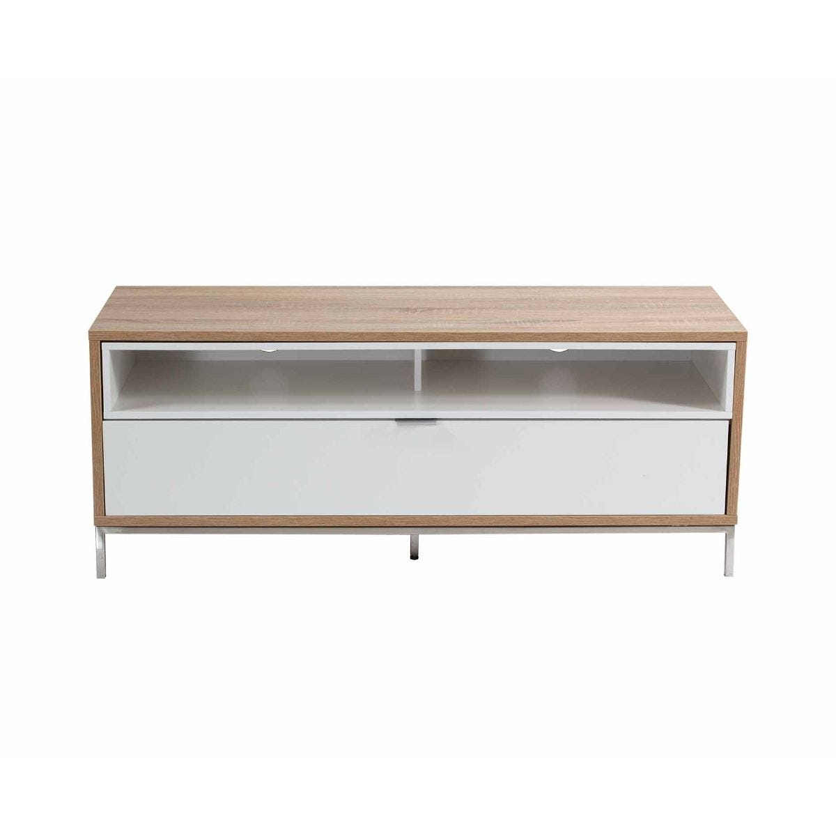 Alphason Chaplin 1135 TV Cabinet White, White