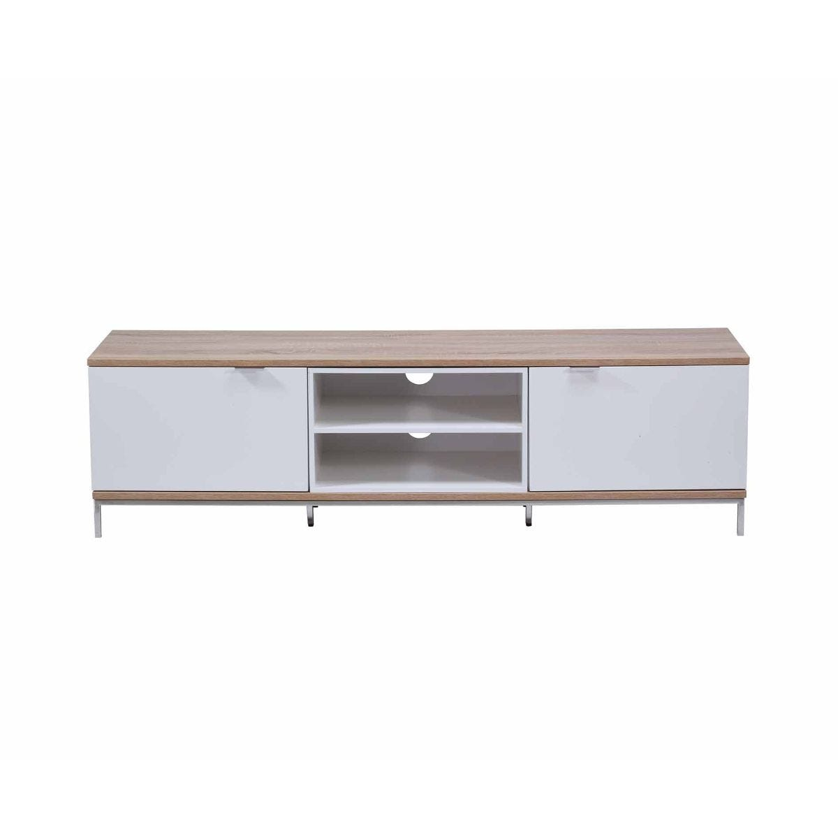 Alphason Chaplin 1600 TV Cabinet White, White