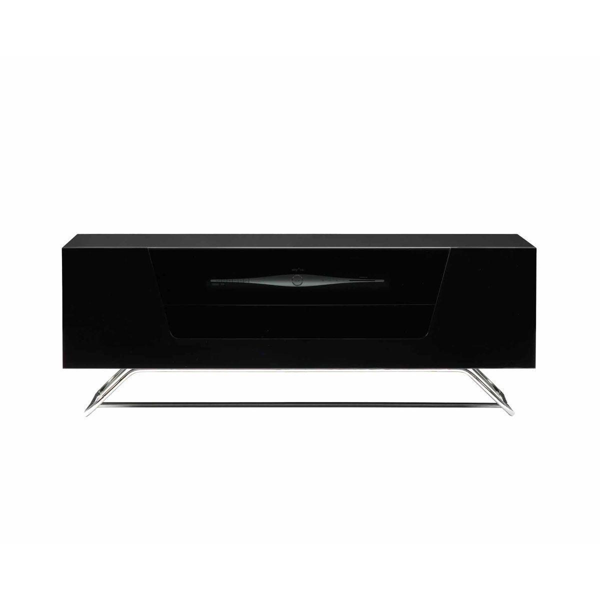 Alphason Chromium 1000 TV Cabinet, Black