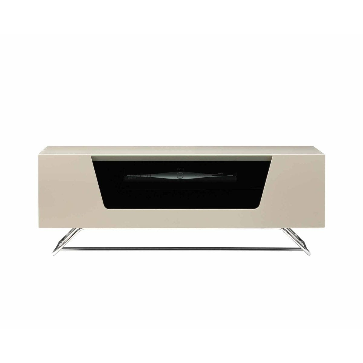 Alphason Chromium 1000 TV Cabinet, Ivory