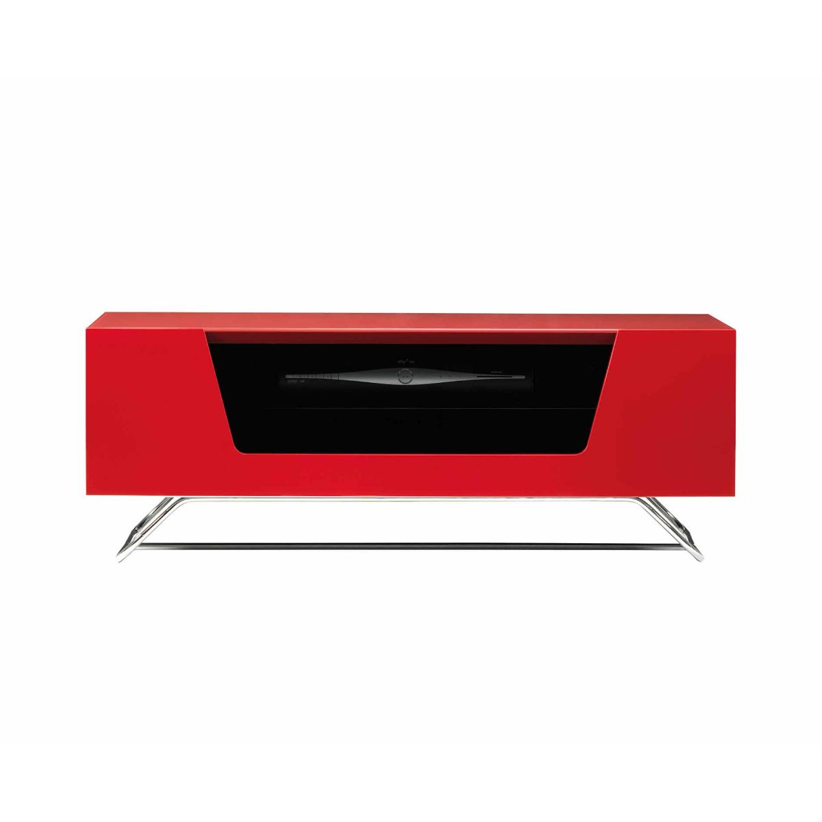 Alphason Chromium 1000 TV Cabinet, Red