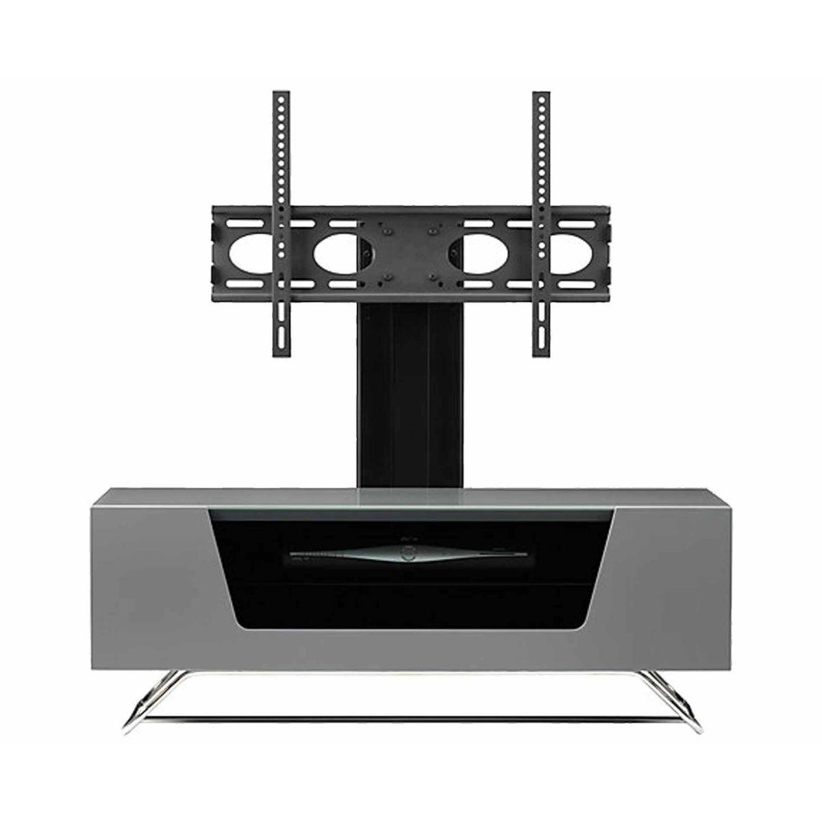 Alphason Chromium 1000 TV Cabinet with Bracket, Grey