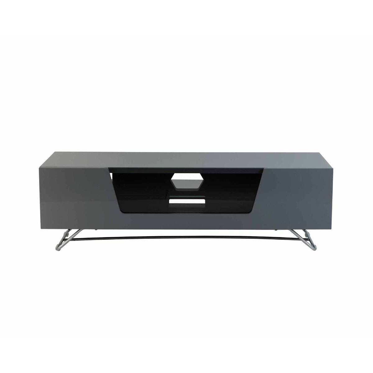 Alphason Chromium 1200 TV Cabinet, Grey