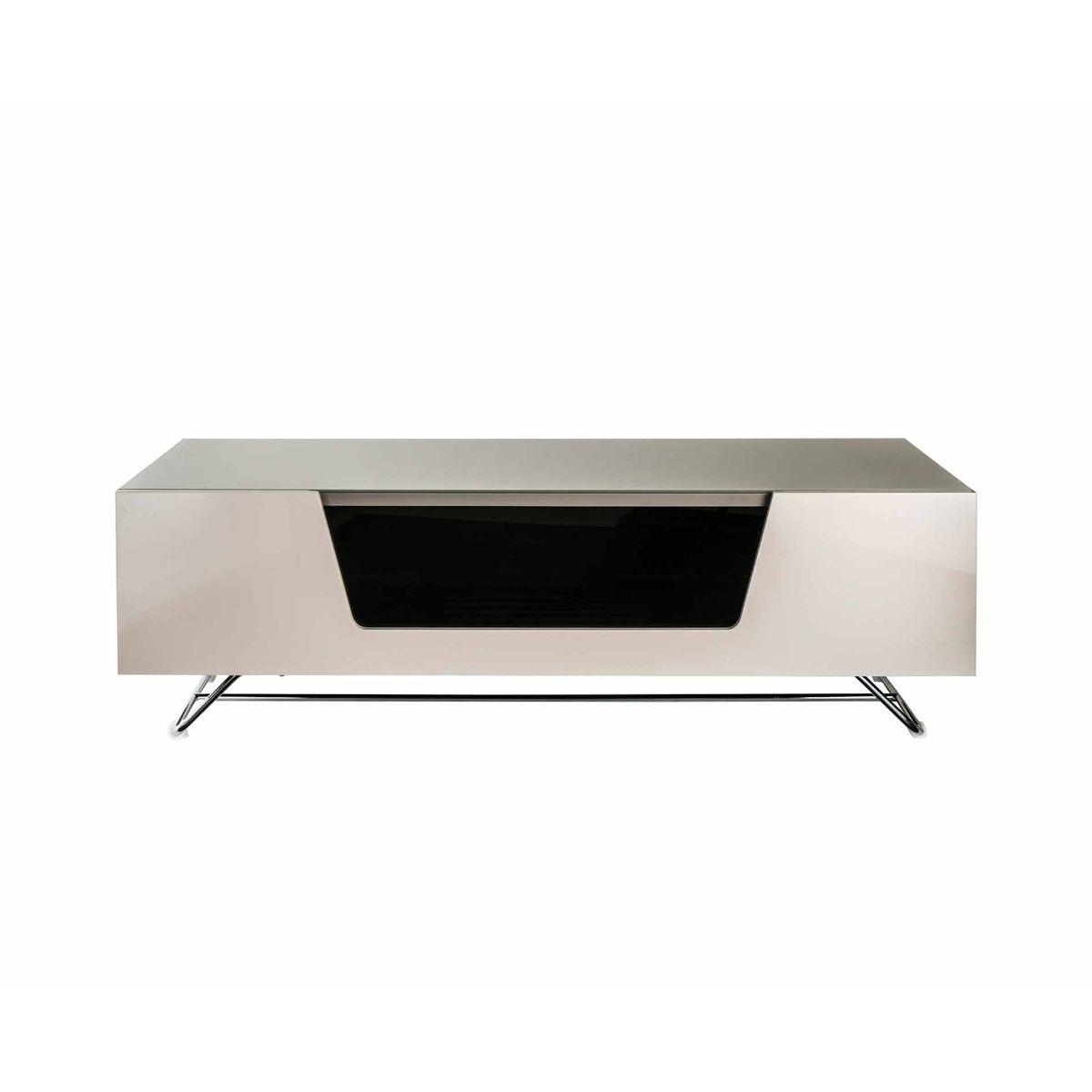 Alphason Chromium 1200 TV Cabinet, Ivory
