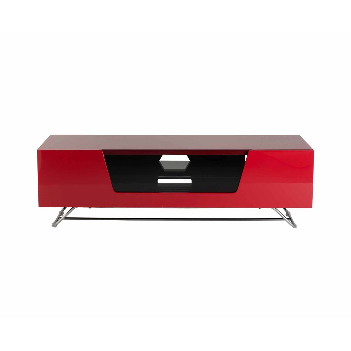 Alphason Chromium 1200 TV Cabinet, Red