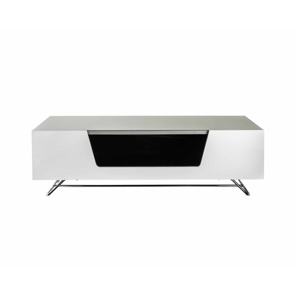 Alphason Chromium 1200 TV Cabinet, White